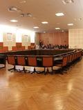 Journées du patrimoine 2016 -Salle du Conseil Municipal de l'Hôtel de Ville de Chalon sur Saône.