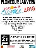 Fête de la musique 2018 - Scène de la commune et des associations avec les musiciens de la Boîte à musique
