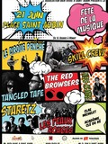 Fête de la musique 2018 - Clae Michelet, Academie Cle Do Re, Le Cirque Penche, The Red Browsers, Francky Stein, Tangled Tape, Les Peaux Rouges, Skill Creww, Staretz