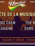 Fête de la musique 2018 - Scène Uppertone: Sorg, The Harbingerz, Mauvaise Graine, élèves du CAEM