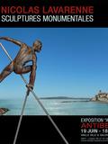 Journées du patrimoine 2016 -Sculptures monumentales de Nicolas Lavarenne