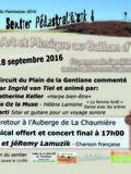 Journées du patrimoine 2016 -Sentier Pédastral'o'zik - Nature, Art et Musique - Expérience, Découvertes et rencontres