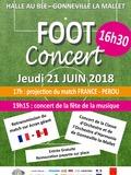 Fête de la musique 2018 - Soirée Foot-Concert