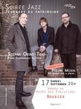 Journées du patrimoine 2016 -Soirée jazz avec Stefan Orins Trio