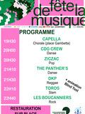 Fête de la musique 2018 - Soirée musicale éclectique sous la Halle aux Fromages