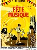 Fête de la musique 2018 - Solange / Solstice / Fabien poissy / I omada / HLBB