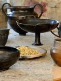Journées du patrimoine 2016 -Tournage de poteries sur tour à bâton et confection de poteries