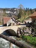 Journées du patrimoine 2016 -Tournerie hydraulique à Saint Pierre d'Entremont le long du Guiers Vif