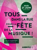 Fête de la musique 2018 - Concerts par les élèves de l'École de Musique et de Danse Ivry-Gitlis