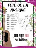 Fête de la musique 2018 - Un beau programme concocté par le Conservatoire