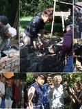 Journées du patrimoine 2016 -Venez rencontrer des jeunes bénévoles venus des 4 coins du monde pour participer à la restauration du patrimoine de Salles