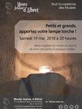 Nuit des musées 2018 -Visite aventure à la lueur des lampes de poche !