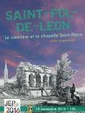 Journées du patrimoine 2016 -Visite commentée du cimetière et de la chapelle Saint-Pierre