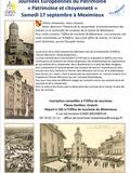 Journées du patrimoine 2016 -Visite commentée et une exposition à l'office de tourisme sur la citoyenneté