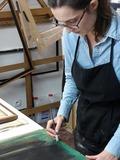 Journées du patrimoine 2016 -Visite d'un atelier de restauration d'œuvres d'art