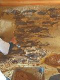 Journées du patrimoine 2016 -Visite d'un chantier de réhabilitation d'une grange en terre