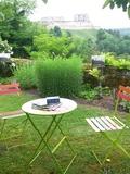 Rendez Vous aux Jardins 2018 -Visite d'un jardin privé sur le chemin de ronde de Coucy le Château Aisne
