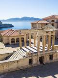 Journées du patrimoine 2016 -Visite de l'Hopital Caroline (îles du Frioul)