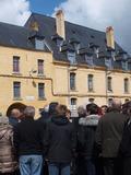 Journées du patrimoine 2016 -Visite commentée de la caserne de Barre