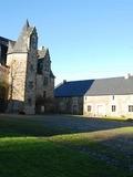 Journées du patrimoine 2016 -Visite des extérieurs du manoir d'Aubigné