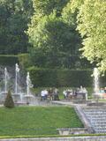 Journées du patrimoine 2016 -Visite des jardins et manœuvres des fontaines par le jardinier