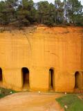 Journées du patrimoine 2016 -Visite des Mines d'ocre de Bruoux en partenariat avec la Maison des Métiers du Patrimoine.