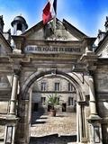 Journées du patrimoine 2016 -Visite du bureau du maire et de la salle du conseil municipal de l'Hôtel de Ville