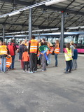 Journées du patrimoine 2016 -Visite du Centre d'Exploitation et de Maintenance Bus et Tram du Grand Dijon