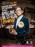 Nuit des musées 2018 -Visite du musée en compagnie d'Apolline de Saint Eloi