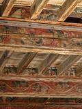 Journées du patrimoine 2016 -Plafond peint du château des Archevêques de Narbonne