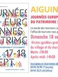 Journées du patrimoine 2016 -Visite gratuite du Musée des tourneurs sur bois, à Aiguines, dans les Gorges du Verdon