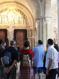 Journées du patrimoine 2016 -Visite guidée de la Basilique Sainte Madeleine à Vézelay