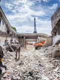 Journées du patrimoine 2016 -Visite guidée du chantier de la salle Firmin Gémier