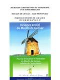 Journées du patrimoine 2016 -Visite guidée du moulin à vent de Gensac