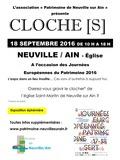 Journées du patrimoine 2016 -Exposition CLOCHE[S]