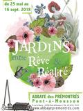 Rendez Vous aux Jardins 2018 -Visite libre de l'exposition « Jardins entre rêve et réalité »