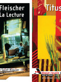 Journées du patrimoine 2016 -Visite libre des expositions de Titus-Carmel, peindre, écrire; Alain Fleischer, La Lecture.