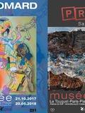 Nuit des musées 2018 -Visite libre des expositions Guyomard, Rétro & Rock, et Pras, Sans objet