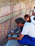 Journées du patrimoine 2016 -Visite-rencontre avec l'atelier de conservation et de restauration des mosaïques.