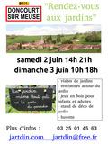 Rendez Vous aux Jardins 2018 -Visite de jardins