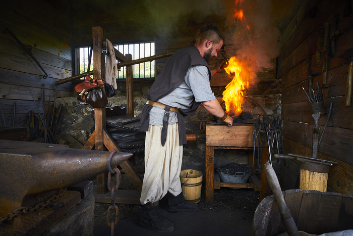 Journées du patrimoine 2020 - Atelier artisanal au temps de Guillaume