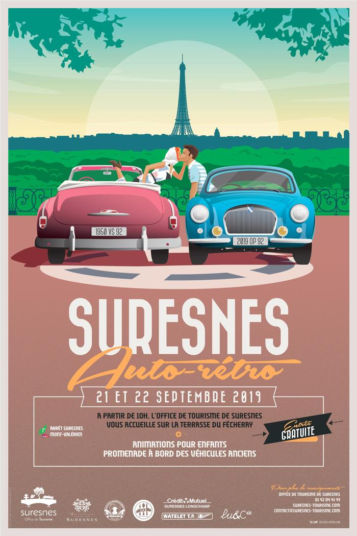 Journées du patrimoine 2019 - Suresnes Auto Rétro 2019