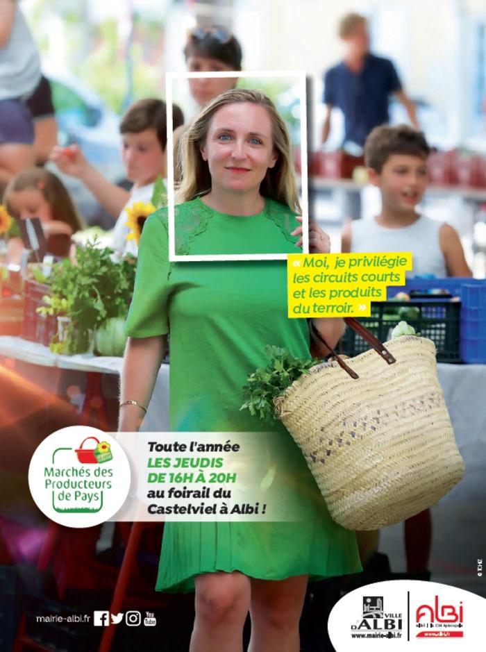 Une soirée dégustation sera organisée le jeudi 17 septembre de 18h à 22h au marché de producteurs de pays du Castelviel.