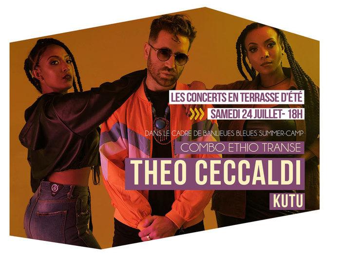 Banlieues Bleues Summer-Camp : THEO CECCALDI / KUTU