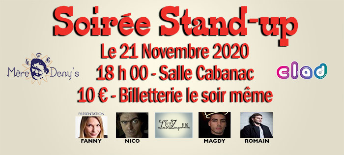Soirée Stand-up
