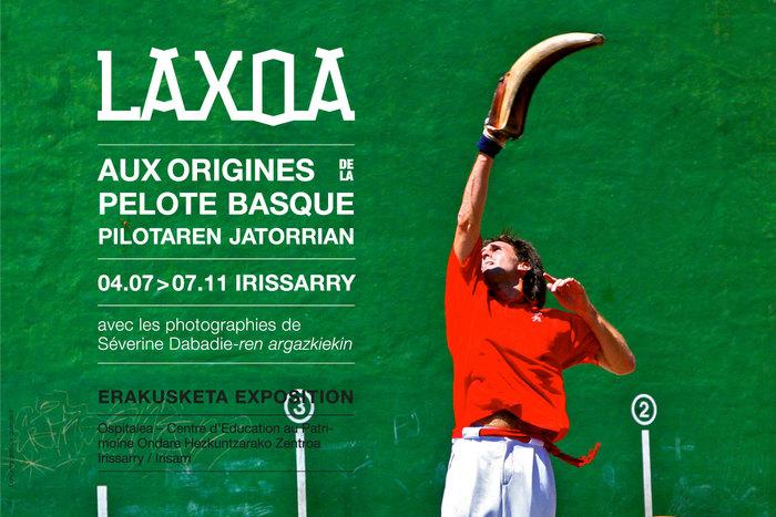 Journées du patrimoine 2020 - Visite commentée de l'exposition « Laxoa aux origines de la pelote basque »