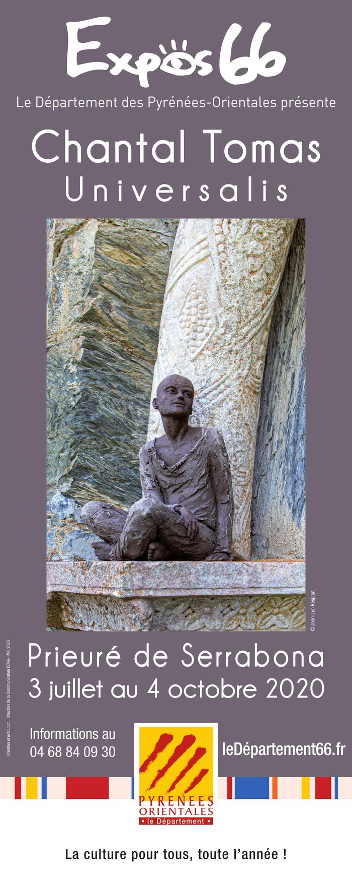 Journées du patrimoine 2020 - ''Universalis'' : exposition de sculptures de Chantal Tomas