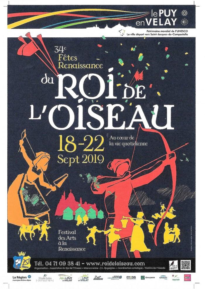 Journées du patrimoine 2019 - 34ème édition du Festival des Arts à la Renaissance.