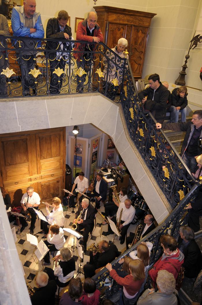 Journées du patrimoine 2019 - L'harmonie pierroise en grande formation