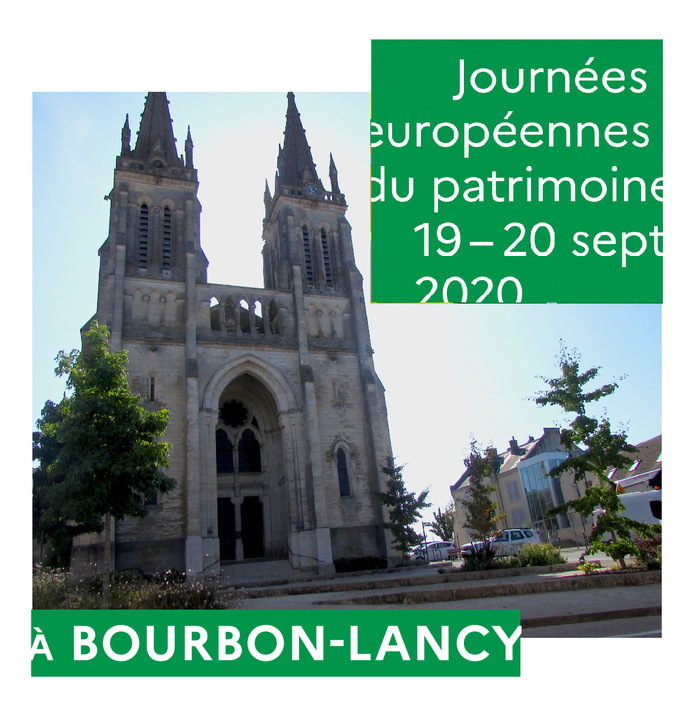 Journées du patrimoine 2020 - Visite libre de l'église du Sacré Coeur